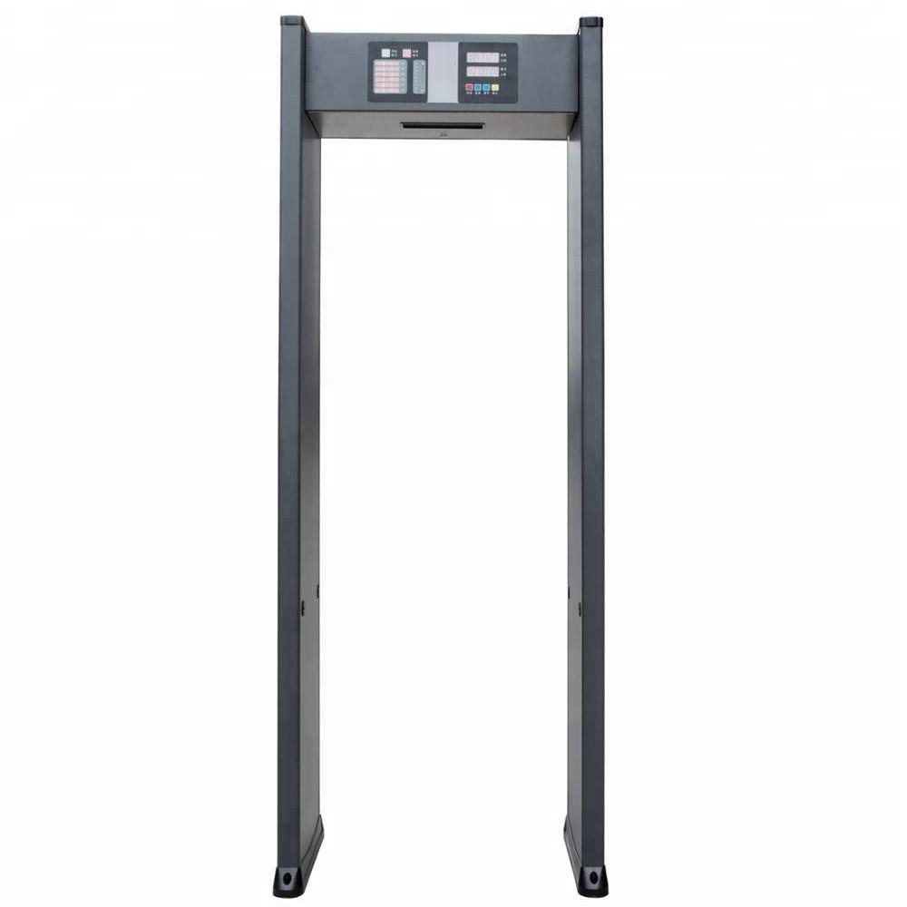 633A highly sensitive security walk through metal detector door frame body metal detector