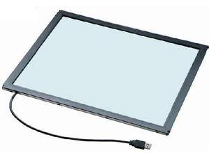 "15"" infrared touchscreen panel usb cable multi points t"