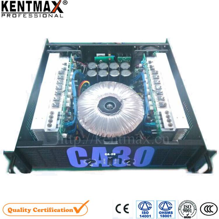 Save 10% Manufacturer 1500 Watt 2 Channels 3U Audio Powerful Amplifier