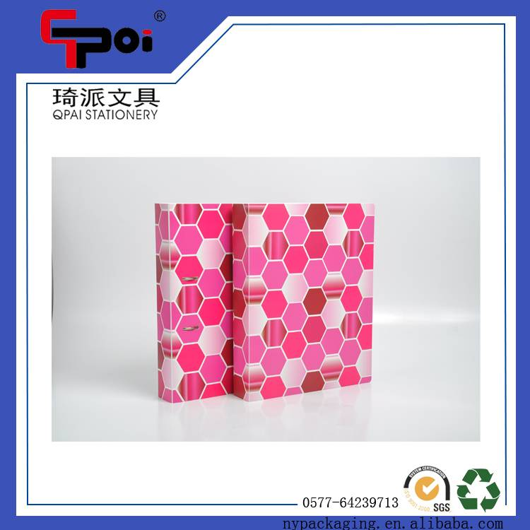 Wholesale D Type 3 Ring Clip PP Stationery Lever Arch File Folder