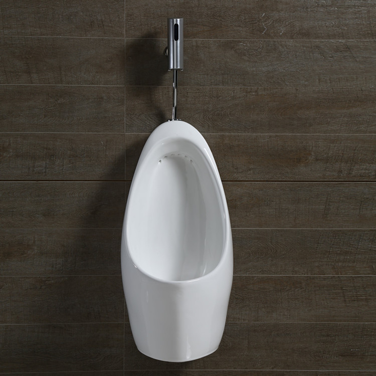 wall mounted waterless urinal toilet bowl partition for male