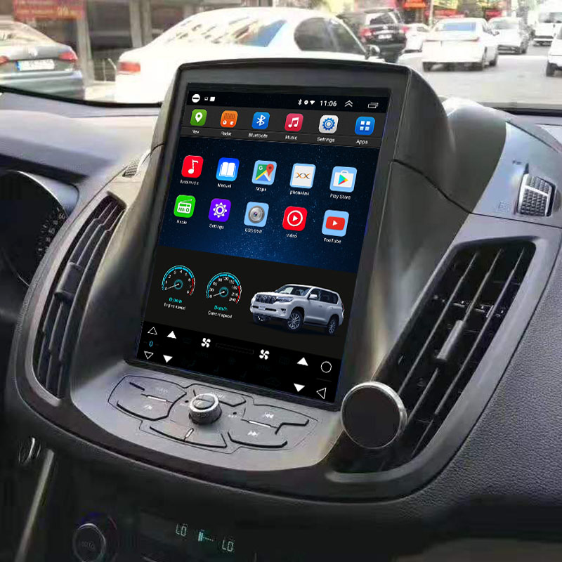 Vertical Screen 10.4 Inch Android Car Multimedia Navigation For Ford Kuga 2013-2019