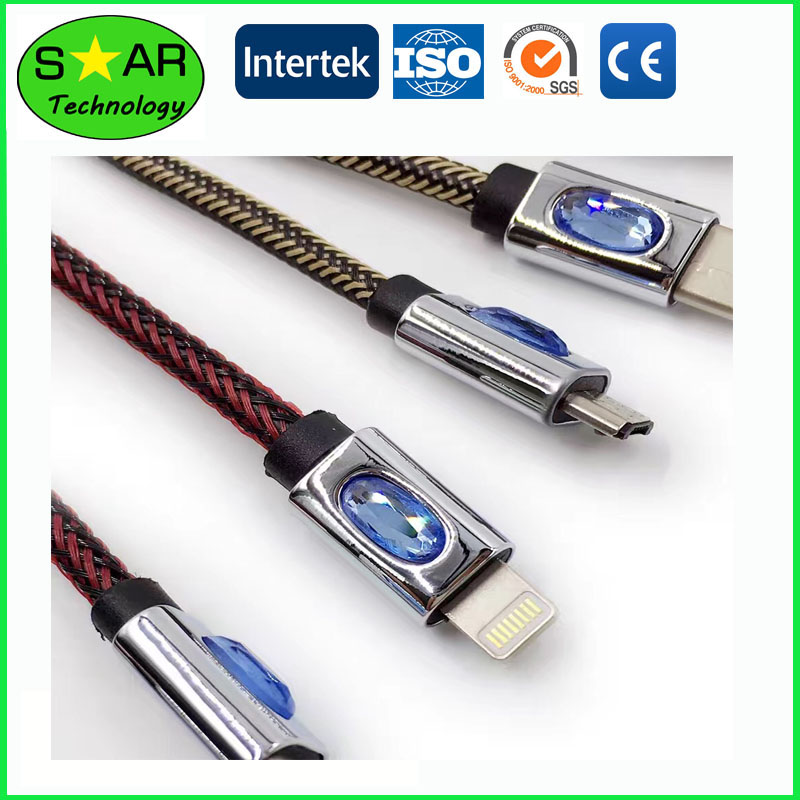 Diamond Phone Cable Luxurious Design Phone Cable
