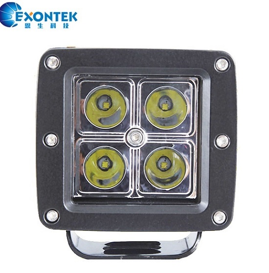 16W ATV offroad led work light motorcycle headlight boat SUV JEEP agricultural machinery Tractor