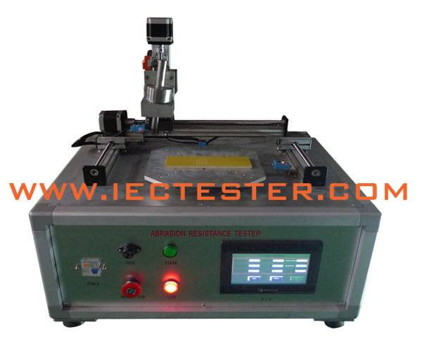 Abrasion Strength Resistance Tester PLC Control