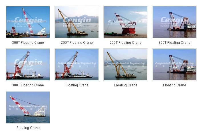 European Design Floating Crane 200T-300T