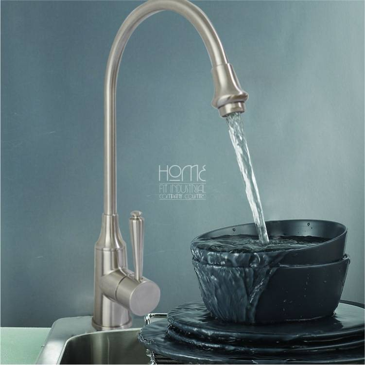 Patented design American Standard 304 stainless steel kitchen faucet