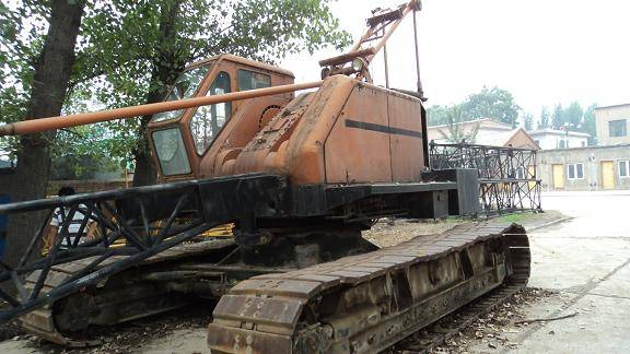 used P&H kobelco crawler crane
