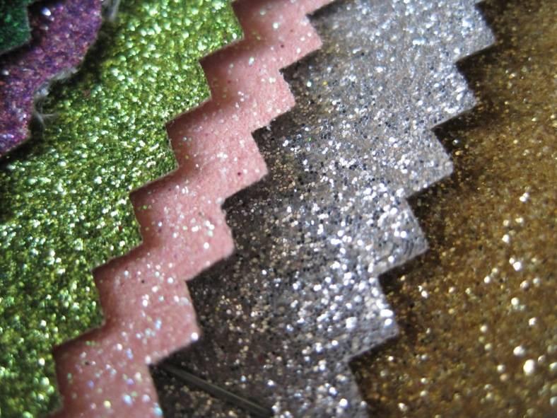 Glitter Vinyl Leather
