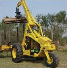3 wheel sugarcane loader