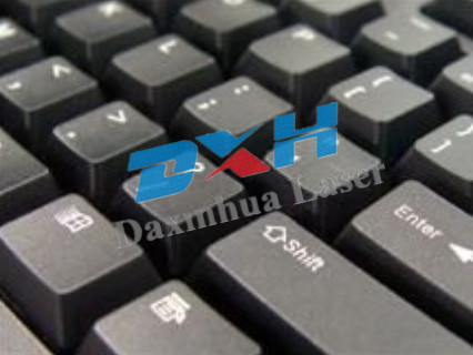 Plastic material surface marking logo,barcode,number and so on