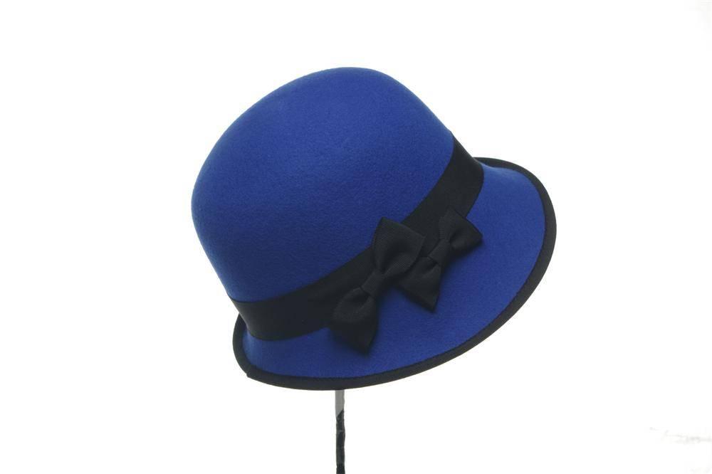 Ladies Bucket Wool Felt Hat (FW006102)