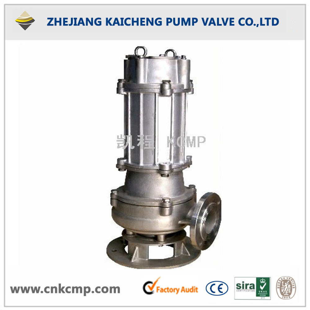 QWP stainless steel submersible sewage pump