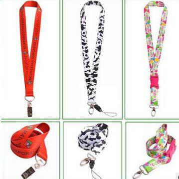 Functional Lanyard Polyester Lanyard Promotional phone Hanging Loop