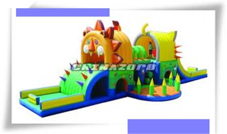 Commercial grade inflatable obstacle pvc tarpaulin inflatable bouncer toy for sale