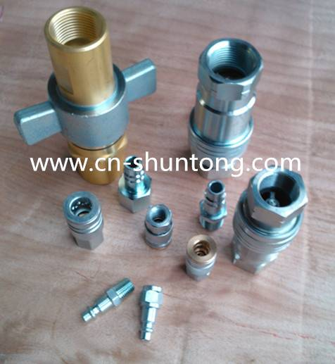 hydraulic fitting and quick couplings