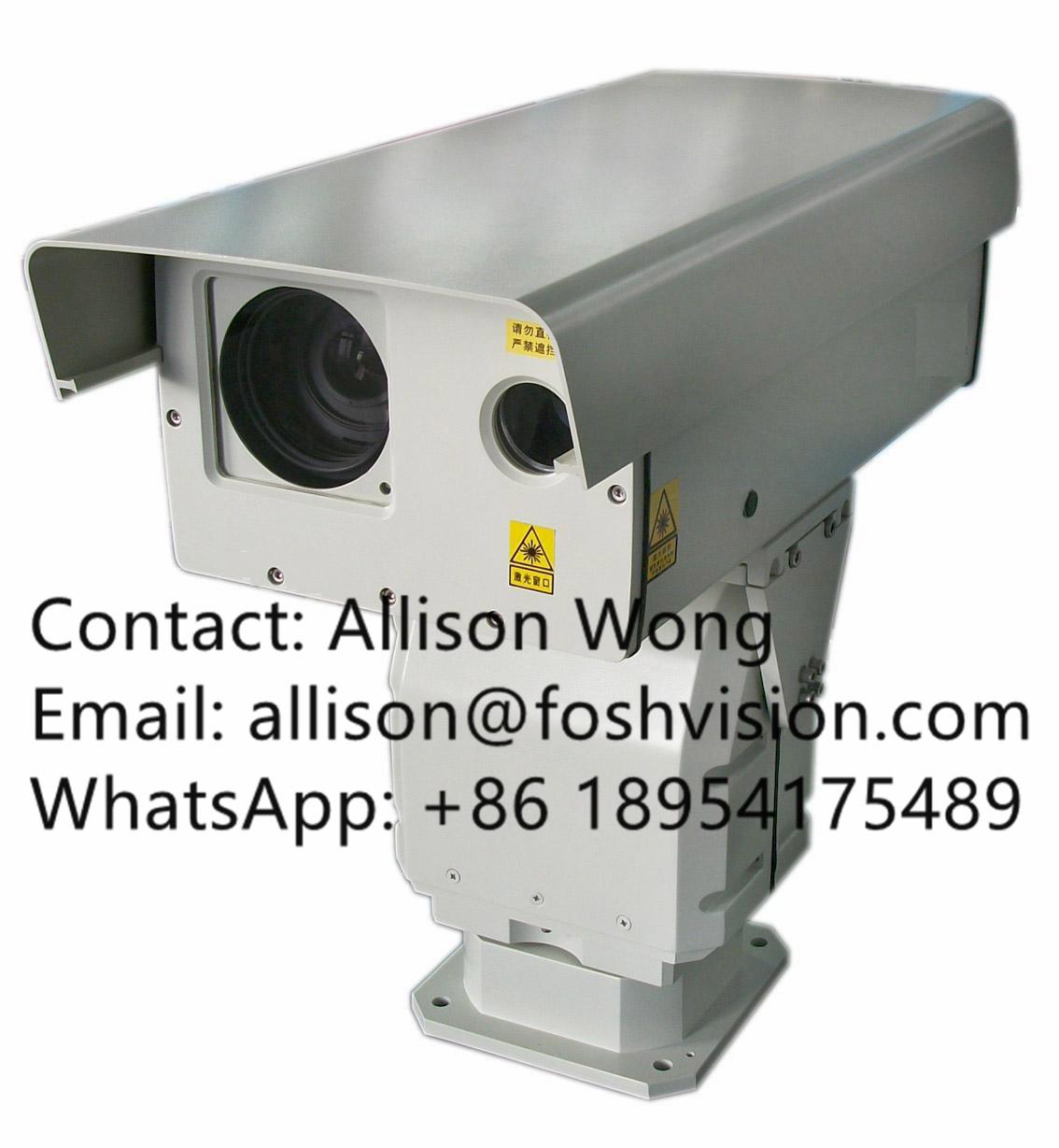 Night Vision Infrared Laser PTZ Camera