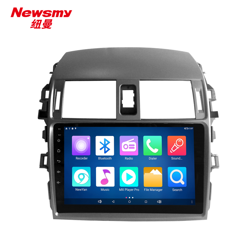 NM9046-H-H0 For Toyota Corolla 2009-2012 Newsmy CarPad4 head unit Android 5.0 with Newyan APP