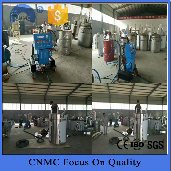 China spray foam rigs anticorrosion polyurea machine
