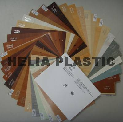 Rigid pvc sheet for covering and thermoforming