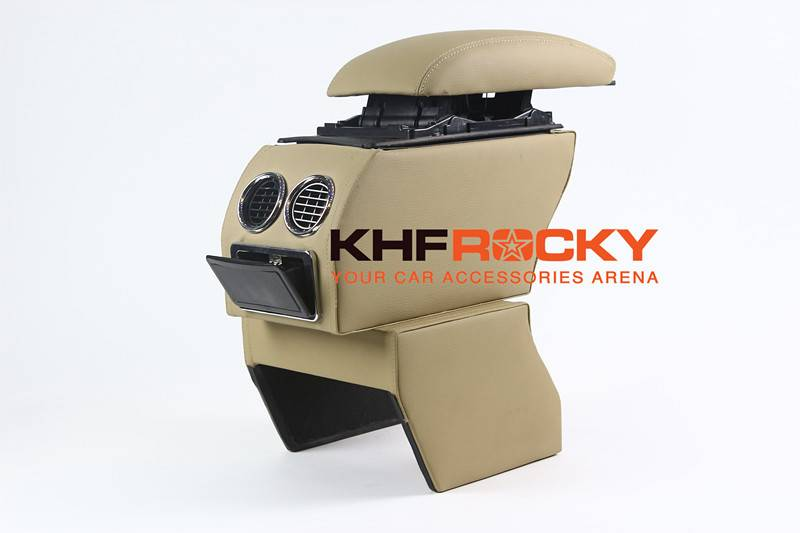 Luxury Drink Holder and Car Armrest Console Box