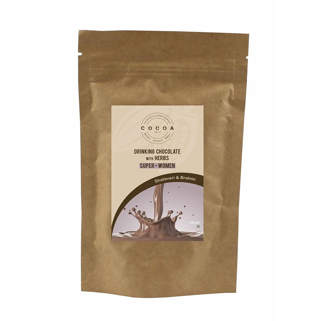 COCOA Organic Super Women Drinking Chocolate 150gm