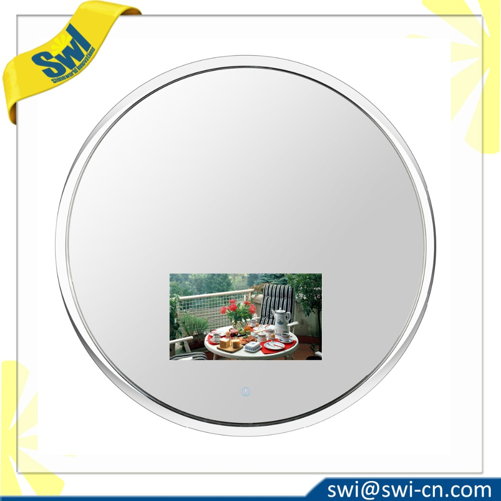 New Stainless Round Frame Waterproof TV