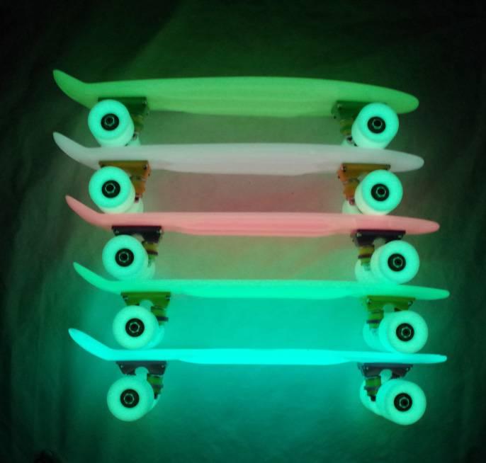 luminous China Manufacturer Kids Luminous Skateboard