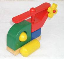 Wooden Car (CS-4096)