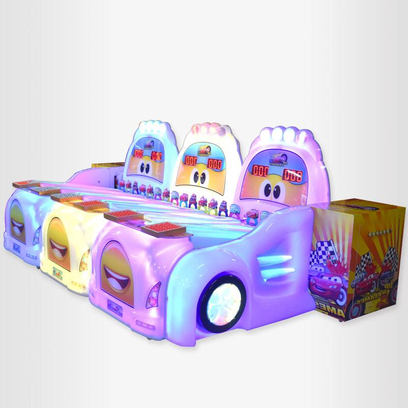 Electric coin operated Cute Car Fun Ball Rolling game machine supplier&exporter
