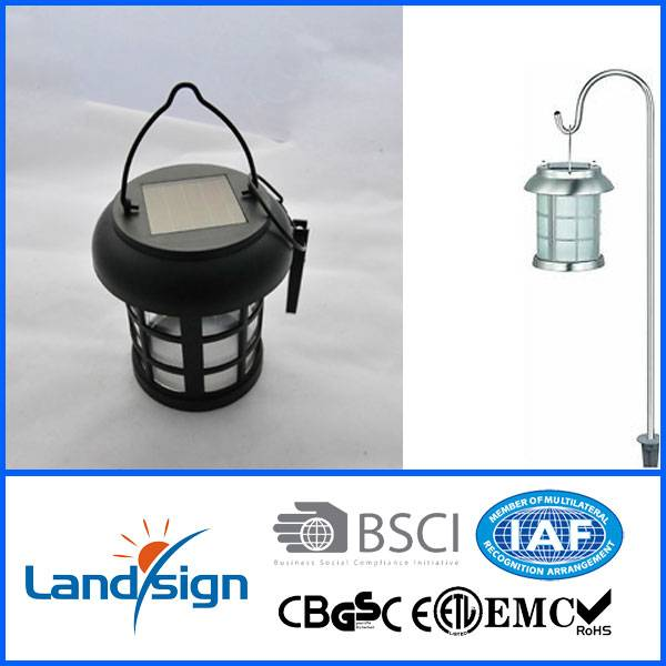 Emergency lighting series solar camping light type CE/Rohs Aluminium dual function solar lantern wit