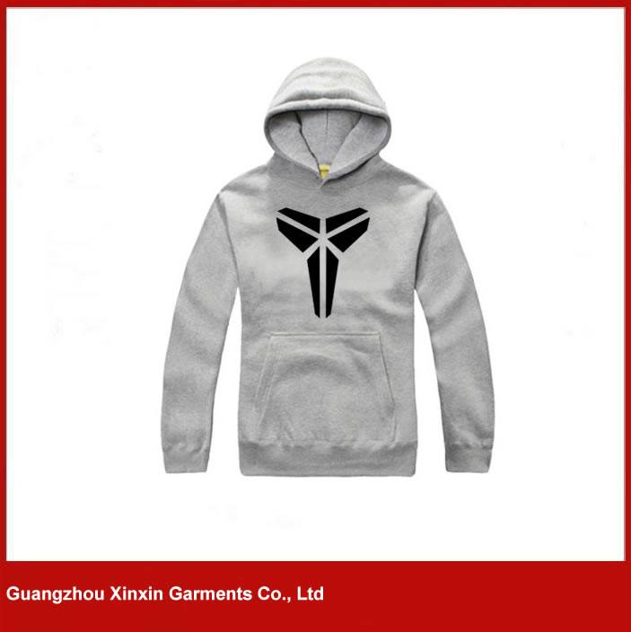 2016 Fashion Hoody Jacket,Grey Hoody Men Custom,100% cotton Fleece Man Hoody