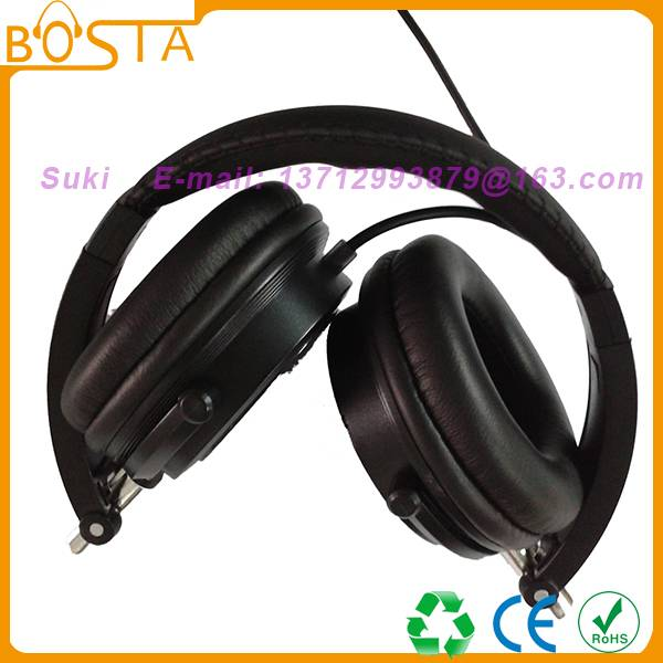 Cool black newly established headphones