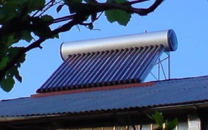 high pressure solar water heater
