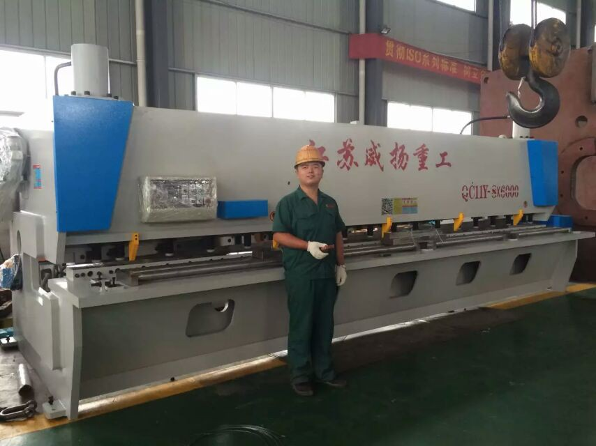 VYMT brand CNC guillotine shear machine made in China hot sell