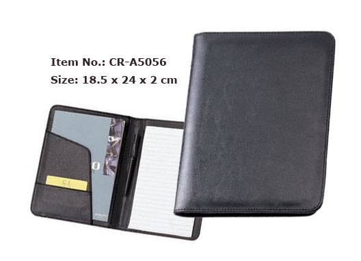Business new stationery product office expanding leather custom design pu files folders
