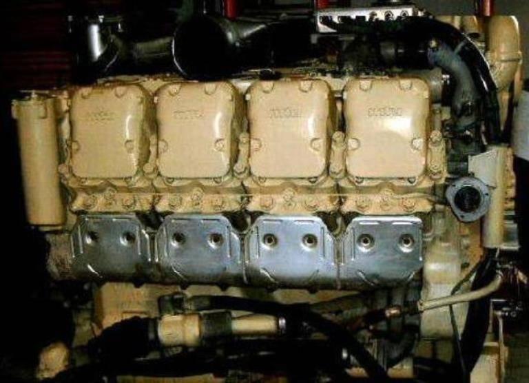 MTU - Mercedes engine