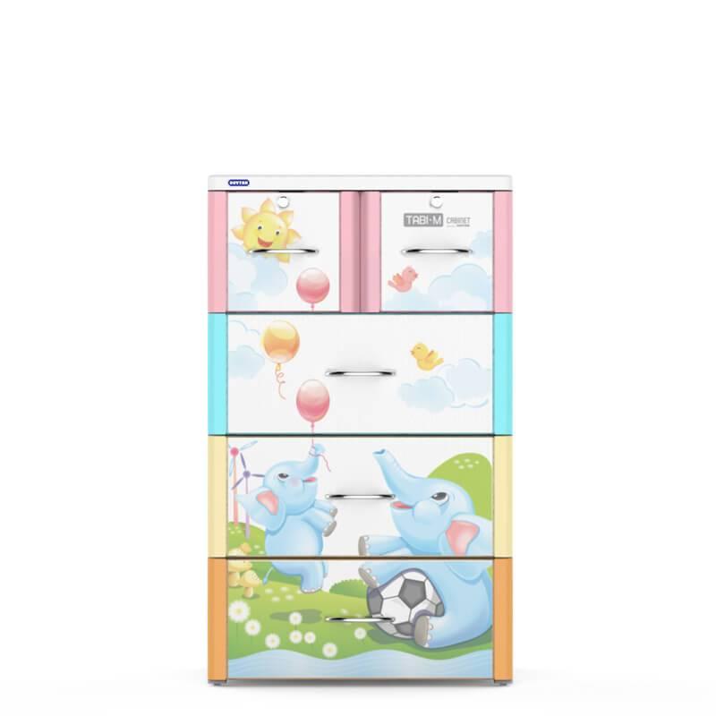 Plastic clothing cabinet closet drawer for bedroom living room-Duy Tan Platics Vietnam