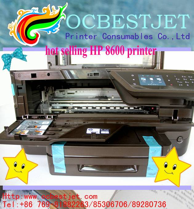 top selling!!! 8600 printer for HP 8600 printer with printer head in 4 colors