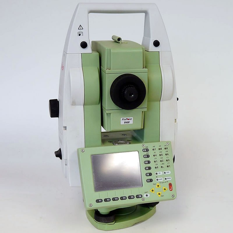 Used Leica TCRP1202+ R400 Total Station