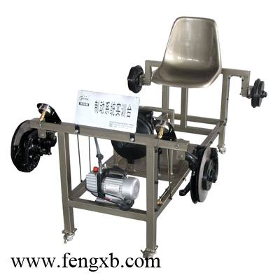 Automobile hydraulic braking system of training kit