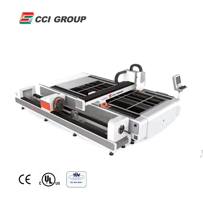 FLC3015TP cnc 500w stainless steel sheet metal tube laser cutting machine