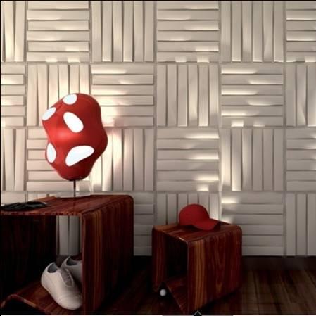 Natrual material empaistic design wallpaper