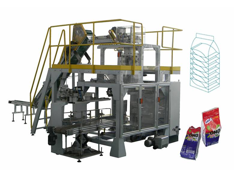 Automatic Small Bag Put into Big Bag Packing Machine (GFP1D1)