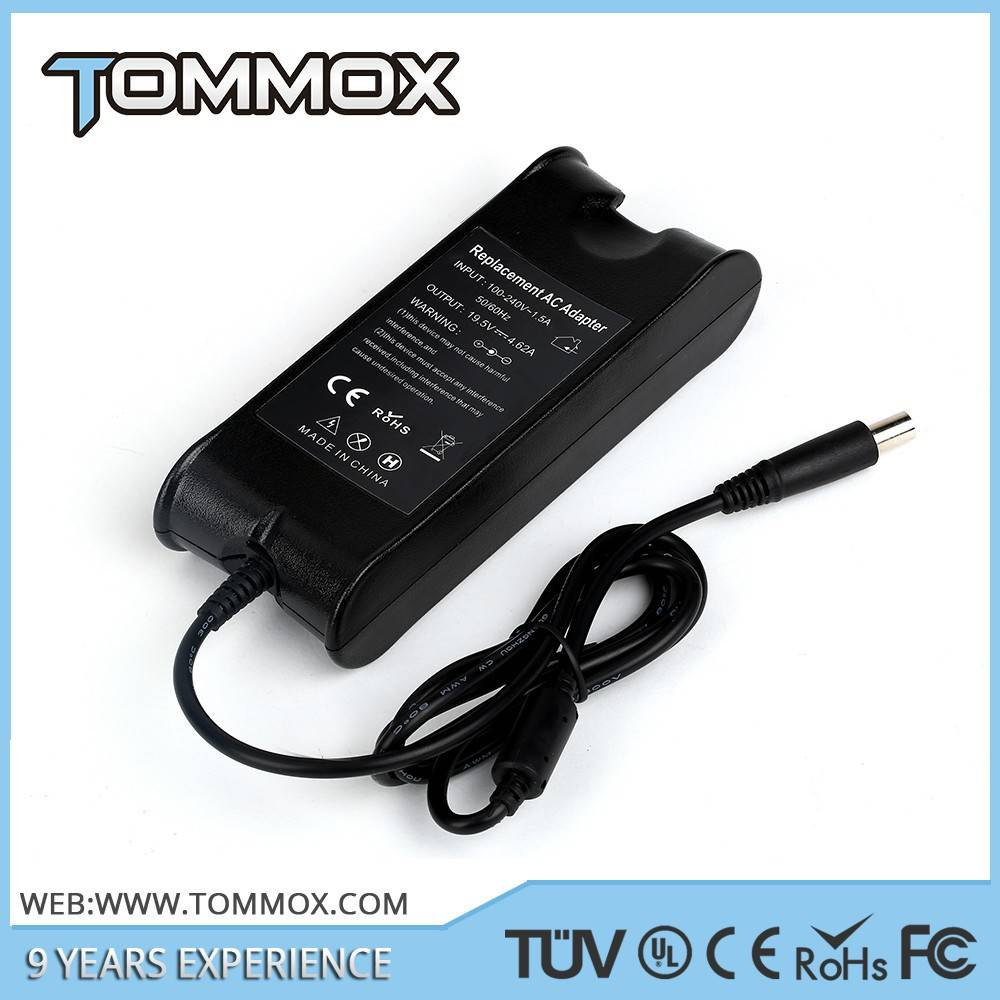 CE approve Tommox mass power ac adapter for dell pa-10 90w