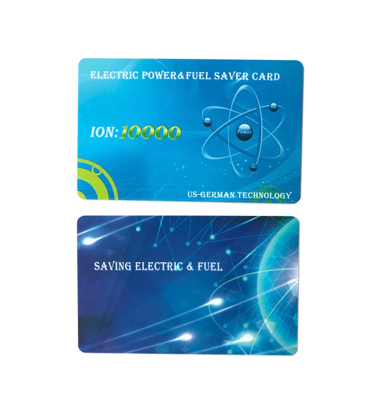 Top sale over 13000 negative ions electric power saving card / energy saver card good price