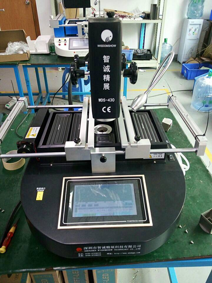 Mobile phone repair expert WDS-430 hot air bga rework station,bga reballing machine with laser