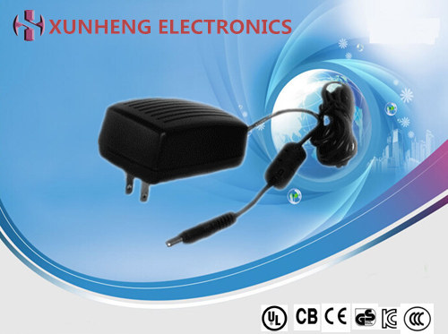 18-36W OEM/ODM customized design high performance power adapter with 6 types of AC plug