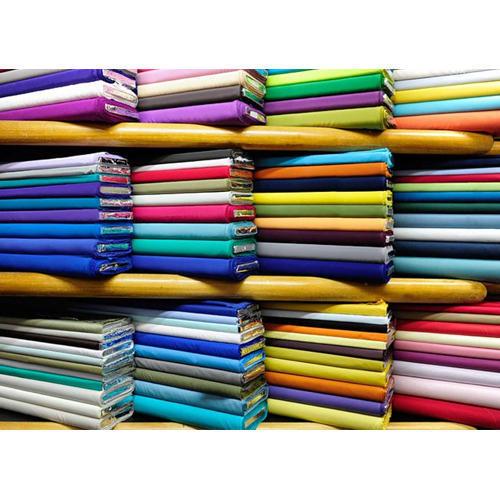 Plain Satin Butti Fabric