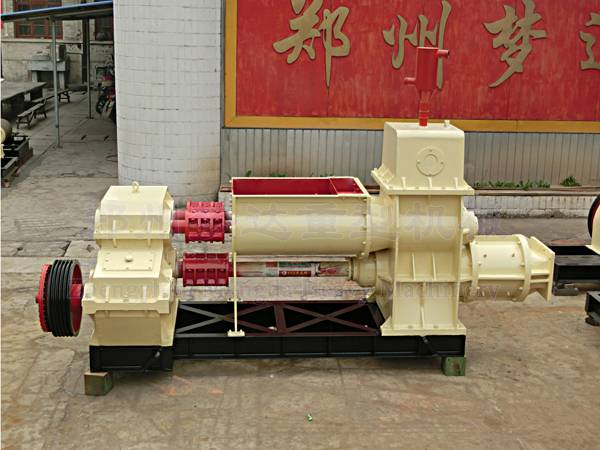 semi-automatic clay/ hollow  vacuum brick  machine for sale